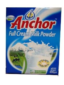 Picture of Anchor Full Cream Milk Powder - 400G