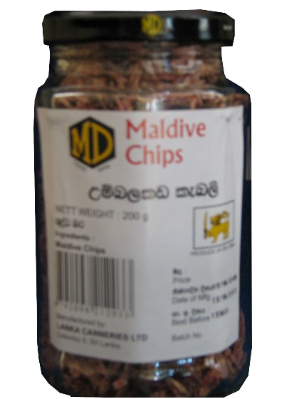 Picture of MD Maldive Fish Chips - 200G