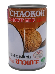 Chaokoh Coconut Milk Tins 400ml