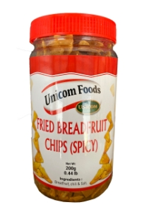 Picture of Unicom Fried Breadfruit Chips (spicy) 200g