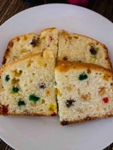 Picture of Light Fruit Cake  - 1.5Lb (fresh baked)