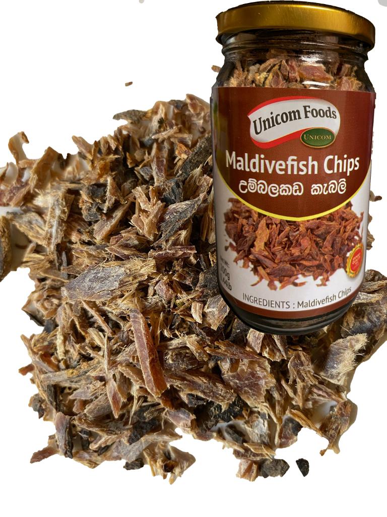 Picture of Unicom Maldive Fish Chips (Tuna Fish) - 200G